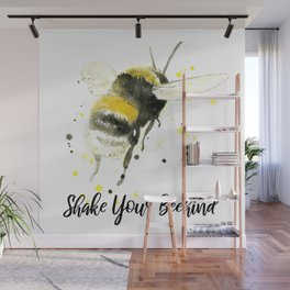 Shake Your Beehind - Punny Bee Wall Mural