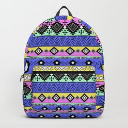 Ornament in the style of hippies 1. Backpack