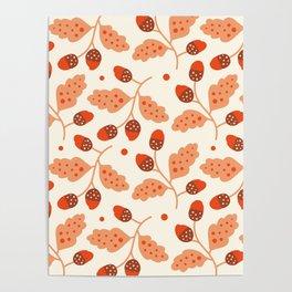 Cherry Fruit Poster