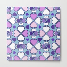 Hearts Flower Creation 6 Metal Print