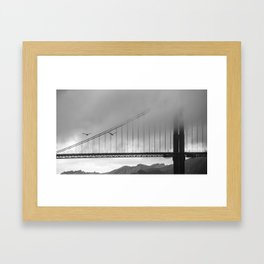 Gray Bay Framed Art Print