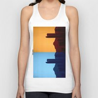 denver Tank Tops featuring Denver, Colorado by Augustina Trejo