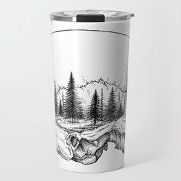 SKULL/FOREST Travel Mug