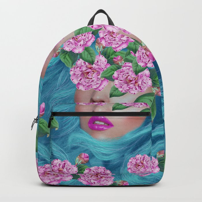 Lady with Camellias Backpack