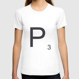 Scrabble P T-shirt
