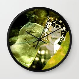 DUCKBOY under sea Wall Clock