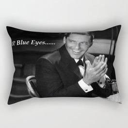 Sinatra - Ol' Blue Eyes Rectangular Pillow