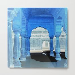 Arches Ancient India Metal Print