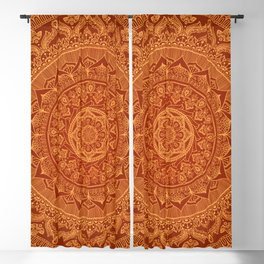 Mandala Spice Blackout Curtain