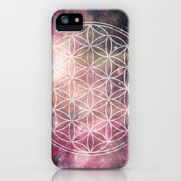 Sacred Geometry Universe 3 iPhone Case
