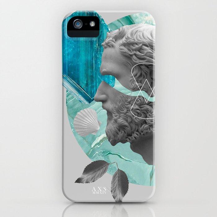 BLUE XXI iPhone Case