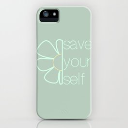 Save yourself iPhone Case