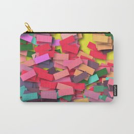 pink colored bricks Carry-All Pouch
