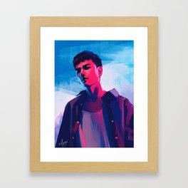 iKON Donghyuk Framed Art Print