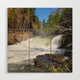waterfall Wood Wall Art