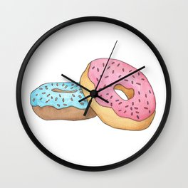 D is for Donut Wall Clock