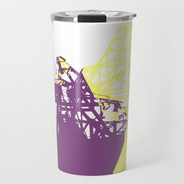 A Crane in Rotterdam Travel Mug
