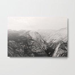 Yosemite Beauty (b&w)  Metal Print