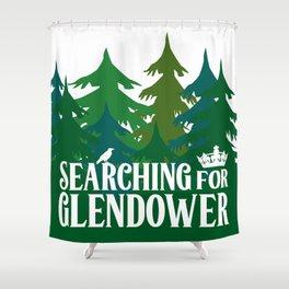 The Raven Boys - Glendower Shower Curtain