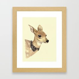 Fancy Deer Framed Art Print