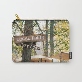 Wooden Honey Sign  Carry-All Pouch