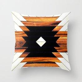 Southwest Pattern | Comanche Tribal | Geometric Design Throw Pillow
