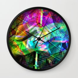Better the real than the spare in any case, innit! [RGB] Wall Clock