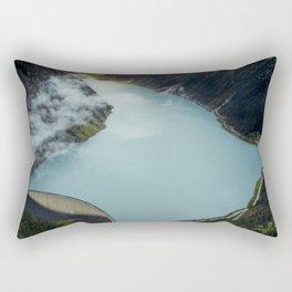 Hidden lake in Austrian Alps Rectangular Pillow