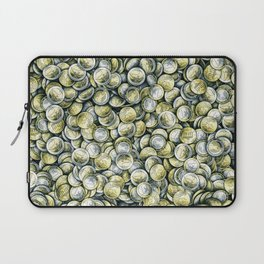 Euro coins / Show me the money Laptop Sleeve