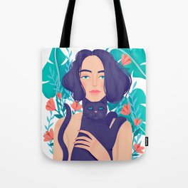 Catlady Tote Bag