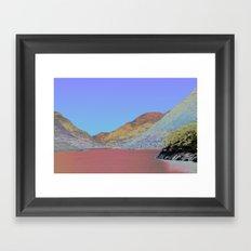 Chromascape 11: Snowdon Framed Art Print