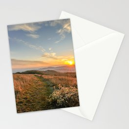 Max Patch Sunrise Stationery Cards