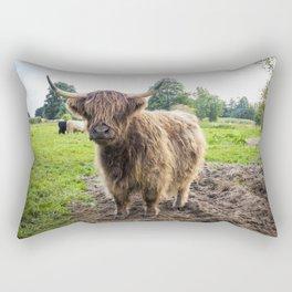 Highland Cattle Rectangular Pillow