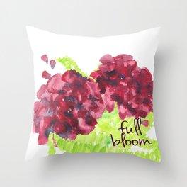 Fresh Blooms Throw Pillow