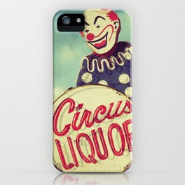 Circus Liquor, N. Hollywood, CA. iPhone Case