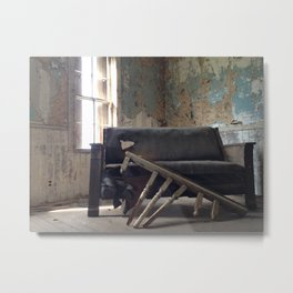 The Last Couch Metal Print