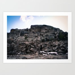 Pinecrest Rock Art Print