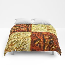 Checkered Chestnuts Comforters