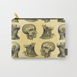 Human Anatomy Pattern II Carry-All Pouch