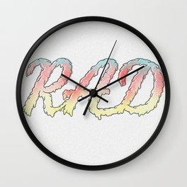 RAD IIII Wall Clock