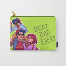 Best Super-Dad Ever Carry-All Pouch