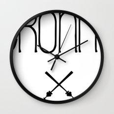 TRONNA - BEST CITY Wall Clock