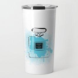 Blue Perfume #2 Travel Mug