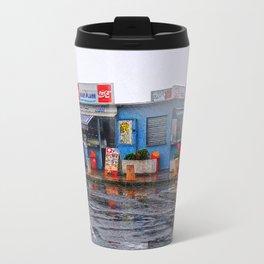 Rainy Beach Bar Cote d´Azur Travel Mug