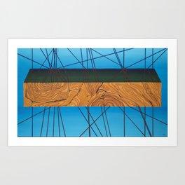 Wood No. 1 Art Print