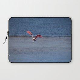 Roseate Spoonbill in Flight IV Laptop Sleeve