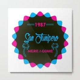 San Junipero Metal Print