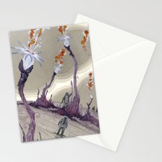 fire from outer space Stationery Cards