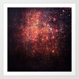 Cosmic twinkle Art Print