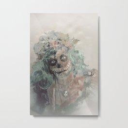 Mexican Widow Metal Print